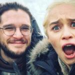 За кадром: самые яркие снимки актеров «Игры престолов» в соцсетях