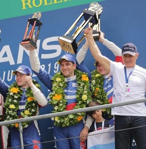 46657 Экипаж SMP Racing занял третье место на гонке «24 часа Ле-Мана»