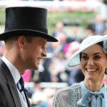 46681 Кейт Миддлтон, принц Уильям, королева Елизавета II, королева Максима и другие на скачках Royal Ascot