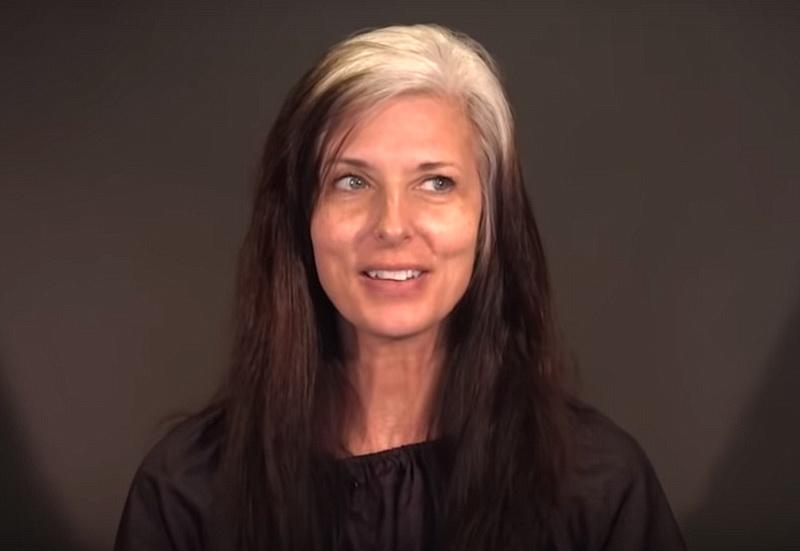 46795 Женщина пришла к стилисту, чтобы избавиться от «волос ведьмы». Когда всё было готово, муж её не узнал