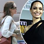47206 Анджелина Джоли замечена на деловой встрече в Лос-Анджелесе