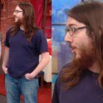 46881 Парень обрезал длинные волосы на ТВ-шоу, и девушка не узнала его
