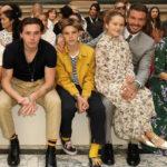 47997 Неделя моды в Лондоне: Дэвид Бекхэм с детьми, Хелен Миррен и другие на показе Victoria Beckham
