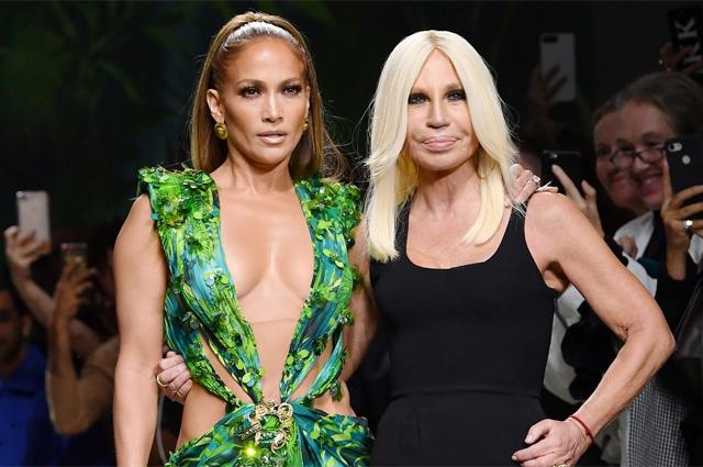 48067 Неделя моды в Милане: Дженнифер Лопес, Ирина Шейк, Белла Хадид на показе Versace