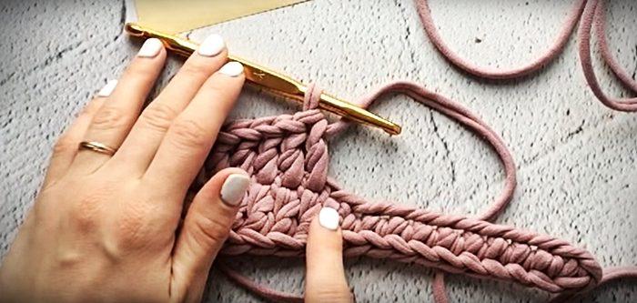 48131 Пошаговая инструкция: тапочки из трикотажной пряжи своими руками