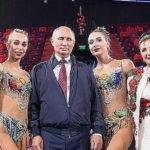47874 Владимир Путин и Сергей Собянин посетили тренировку по художественной гимнастике во дворце Ирины Винер