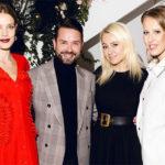48453 Наталья Водянова, Ксения Собчак, Виктория Шелягова на торжественном ужине Яны Рудковской