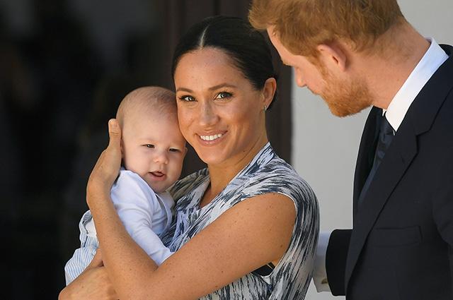 """48749 Инсайдер о подросшем сыне Меган Маркл и принца Гарри и родительских разногласиях пары: """"Они препирались по пустякам"""""""