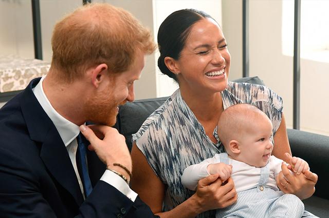 48851 Принц Гарри и Меган Маркл показали новую фотографию сына Арчи