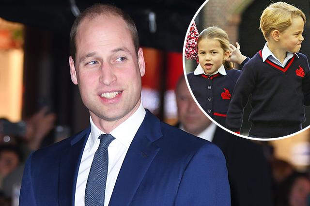 49019 Принц Уильям рассказал о соперничестве между принцессой Шарлоттой и принцем Джорджем