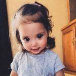 50362 Инопланетные глаза: из-за генетического сбоя у этой девочки огромные зрачки
