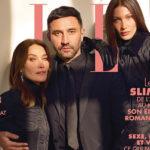 50382 Карла Бруни и Белла Хадид объединились для новой фотосессии французского Elle