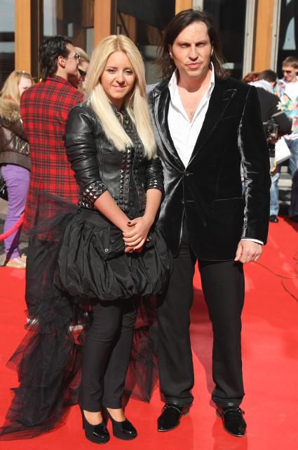 Александр Ревва с супругой
