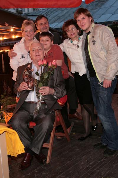 Роксана Бабаян подружилась с дочкой и внуками Державина