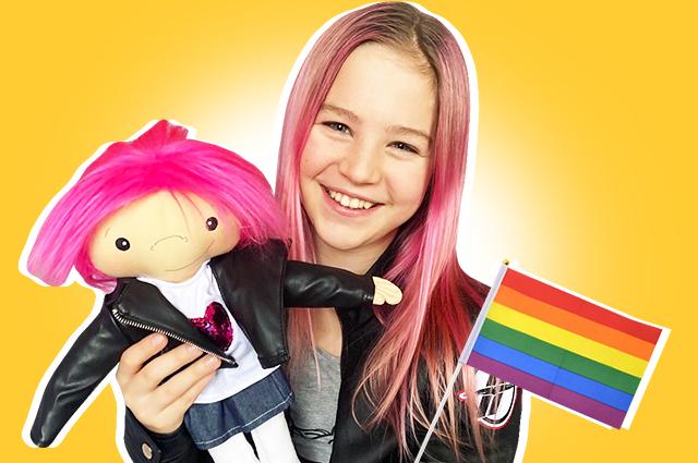 52647 Ребека Брюзехофф: что мы знаем о 13-летней трансгендерной активистке, которая пытается изменить мир