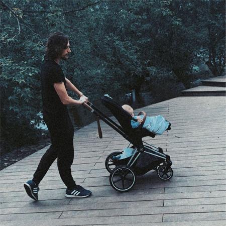 Сергей Полунин с сыном