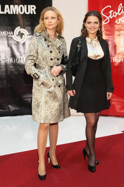Мария Миронова и Елизавета Боярская