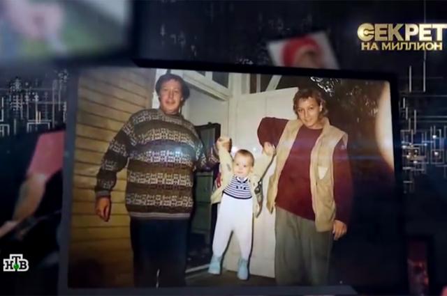 Михаил Ефремов и Ксения Качалина с дочерью