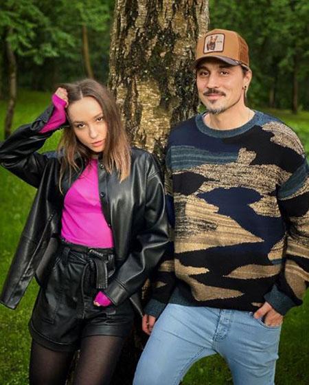Дима Билан с сестрой