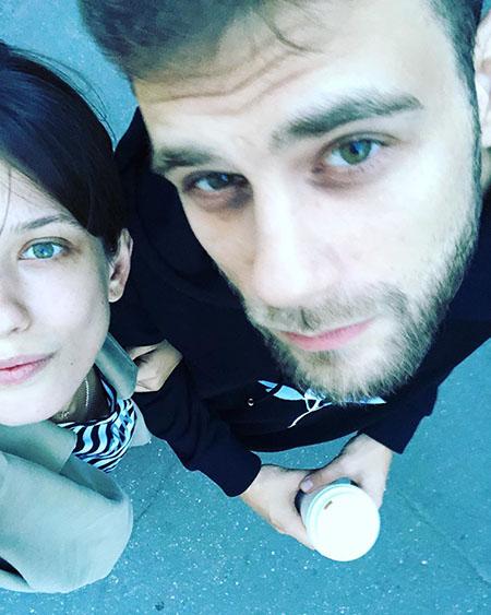 Анна Чиповская и Дмитрий Ендальцев