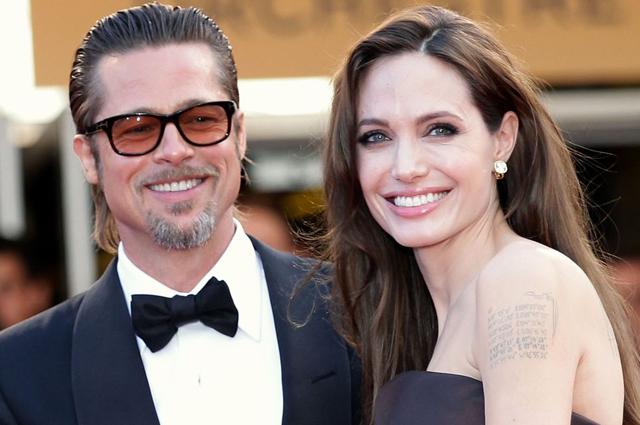 Брэд Питт был замечен у дома Анджелины Джоли впервые с момента их расставания