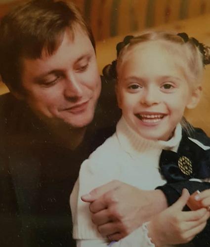 Артем Михалков с дочерью