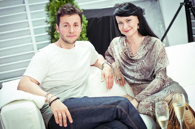 Вячеслав Манучаров и Нонна Гришаева