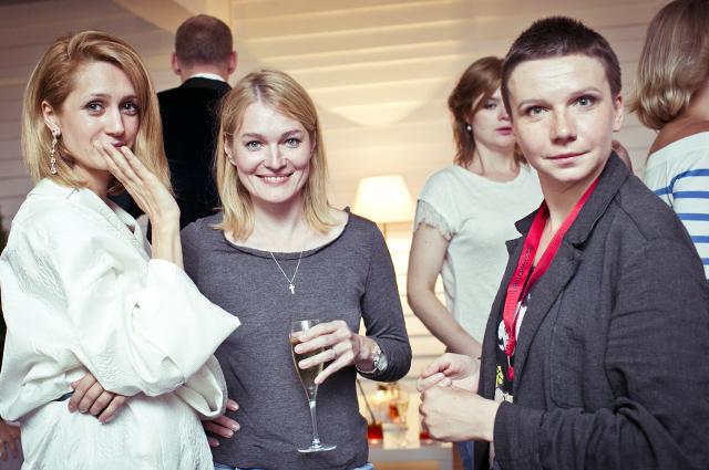 Виктория Исакова, Виктория Толстоганова и Ирина Рахманова