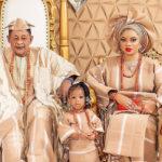 53198 81-летний король Ойо отпраздновал 22-летие своей жены, которую ему подарили