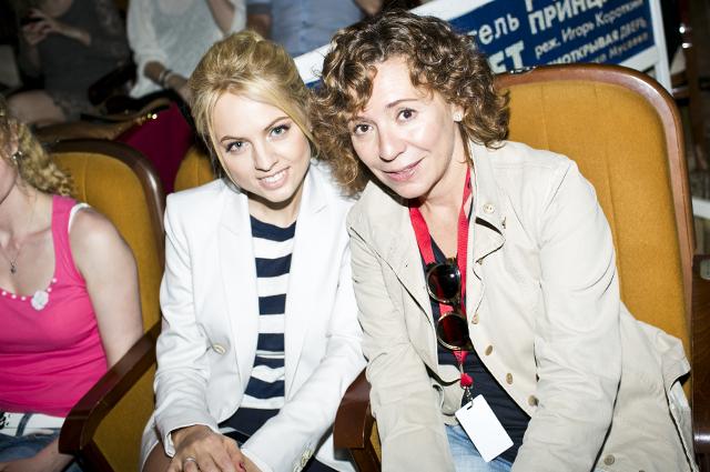 Янина Студилина и Валерия Роднянская