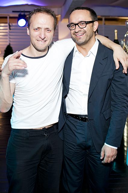Владимир Мишуков и Андрей Звягинцев