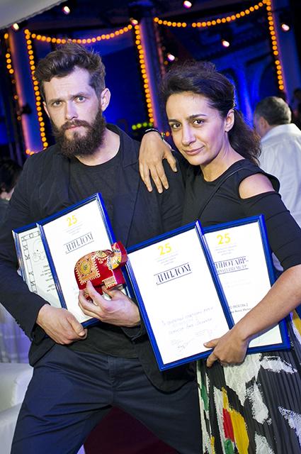 Григорий Добрыгин и Анна Меликян