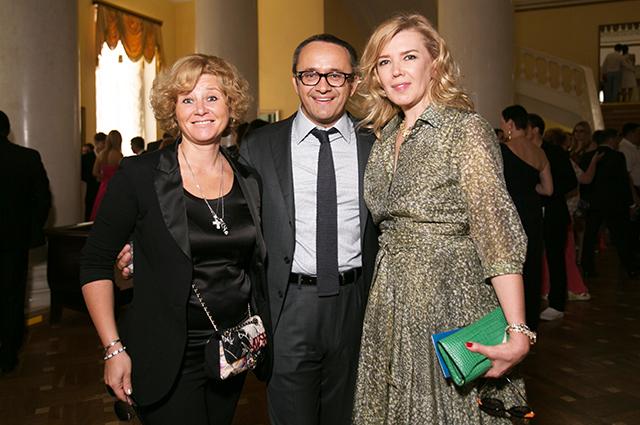 Юлия Скворцова, Андрей Звягинцев и Марианна Сардарова