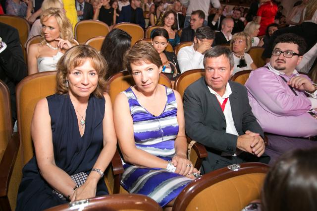 Валерия Роднянская, Татьяна и Валентин Юмашевы