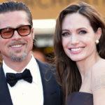 57957 Брэд Питт был замечен у дома Анджелины Джоли впервые с момента их расставания