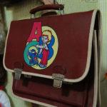 53695 Что носил школьник прошлой эпохи в своем рюкзаке?