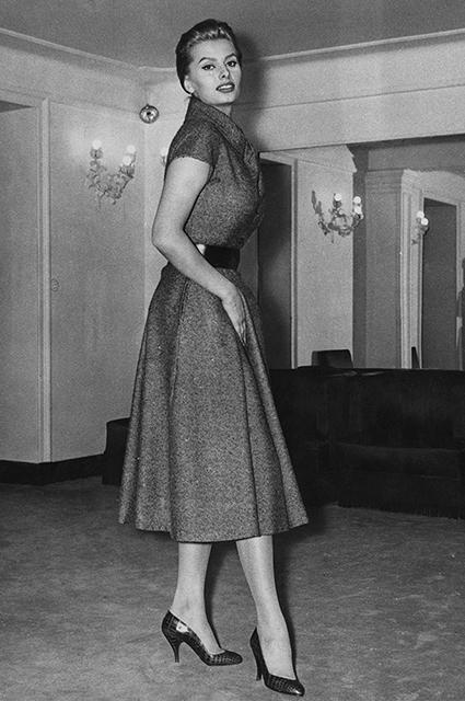 Софи Лорен в Dior