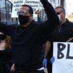 54290 Дженнифер Лопес и Алекс Родригес, Софи Тернер с мужем и другие звезды приняли участие в протестах в США