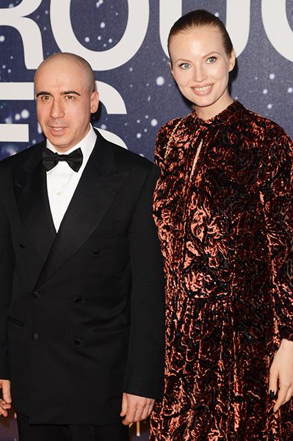 Юлия и Юрий Мильнер