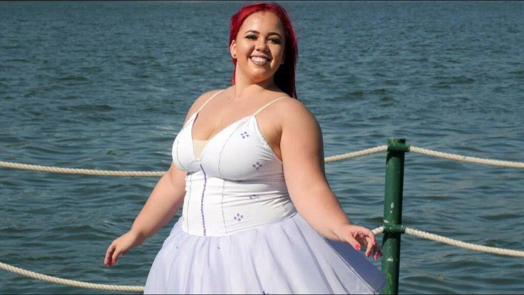 56646 Известная балерина, которая весит больше 100 кг, разрушает все стереотипы