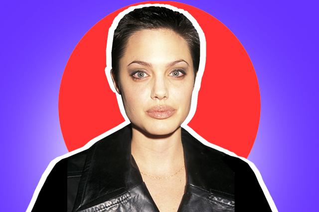 7 уроков стиля от Анджелины Джоли из 90-х, которые снова актуальны