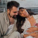 57770 Саша Зверева стала мамой в четвертый раз и поделилась снимками новорожденного