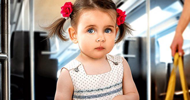 Маленькая девочка уступила бабушке место в автобусе…Все пассажиры плакали от смеха…