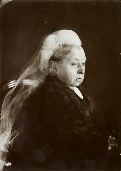 Портрет королевы Виктории к 50-летию ее правления, 1887 год