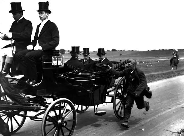 Экипаж с королем Георгом V, 1920 год