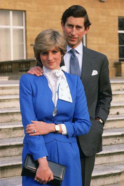 Принцесса Диана и принц Чарльз. Официальное фото с помолвки