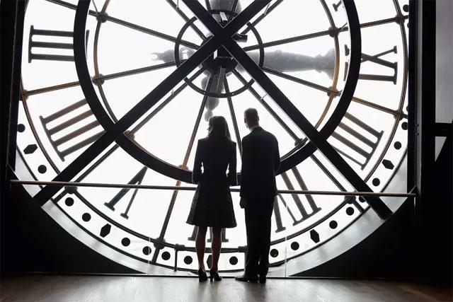 Кейт Миддлтон и принц Уильям в музее Орсе в Париже, 2017 год