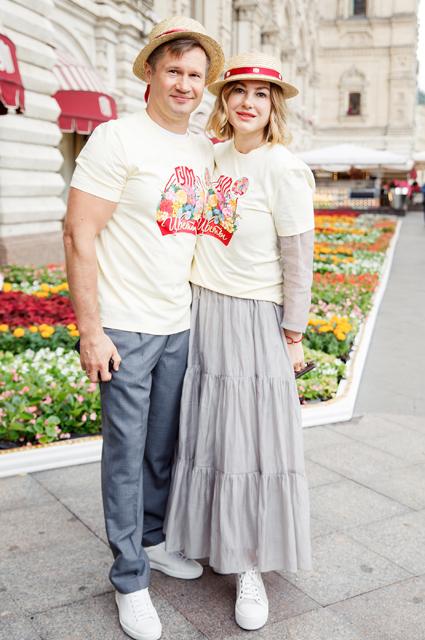 Алексей Немов с супругой Галиной