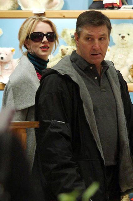 Бритни Спирс с отцом Джеймсом