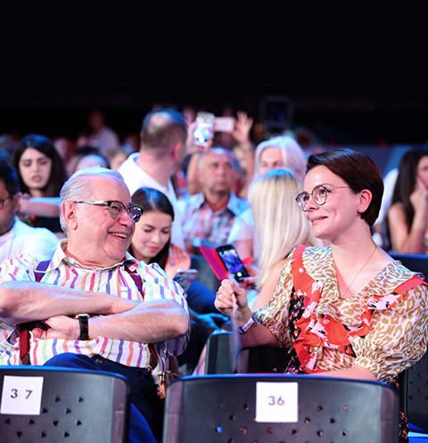 Петросян и Брухунова поженились в конце прошлого года